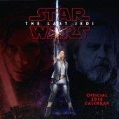 Star Wars Gwiezdne Wojny Ostatni Jedi - Oficjalny Kalendarz 2018