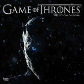 Gra o Tron Games of Throne - Oficjalny Kalendarz 2018