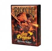 Age of Dragons - klasyczne karty do gry projektu Anne Stokes