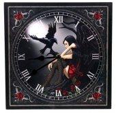 zegar - Mroczny Anioł i Kruk