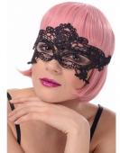 Maska karnawałowa koronkowa czarna I