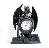 zegar dekoracyjny stojący - Smok w Zbroi