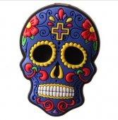 Meksykańska Czaszka granatowa - magnes