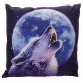 Wilk i Pełnia Księżyca - poduszka dekoracyjna