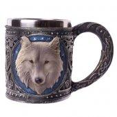 Wilczy Kufel - kufel dekoracyjny z wilkiem