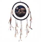Wilk i Pełnia Księżyca - łapacz snów, 33cm