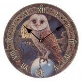 zegar - Sowa z Kryształową Kulą