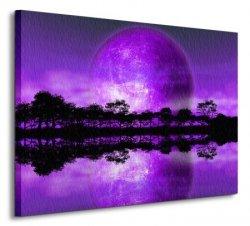 Rising of The Moon - Obraz na płótnie