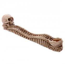 Czaszka i Kości - podstawka na kadzidła długie i stożkowe
