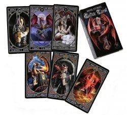 karty Anne Stokes Gothic Tarot + instrukcja w jęz. polskim