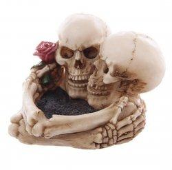 popielniczka Miłość po grób dark gothic