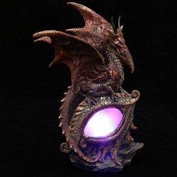 Dragon Eye - figurka czerwonego smoka z lampką LED