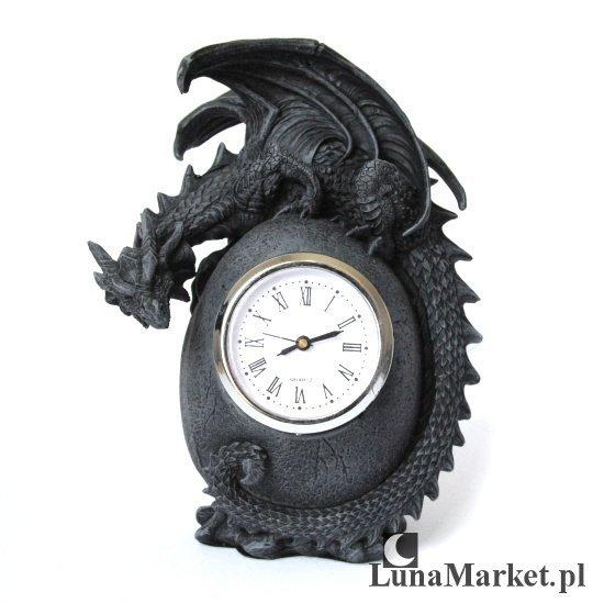 zegar w kształcie smoka, smoczego jaja - gadżety ze smokami