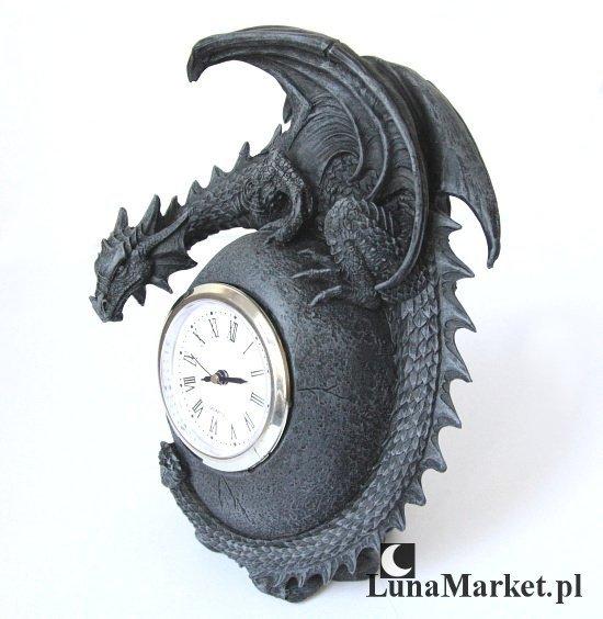 zegar w kształcie smoka - smocze jajo