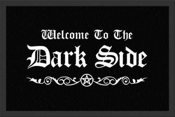 Welcome To The Dark Side - wycieraczka