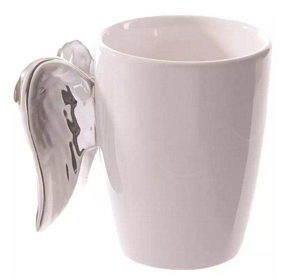 duży porcelanowy kubek Srebrne Skrzydła