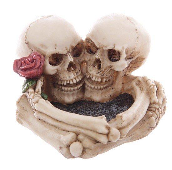 """popielniczka """"Miłość po grób"""" dark gothic"""
