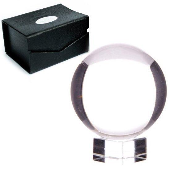 kryształowa kula szklana rozmiar 8cm do wróżenia