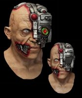 Maska lateksowa - Cyborg Smartphone