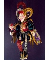 Marionetka wenecka - Joker (75 cm)