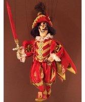 Marionetka wenecka - Capitano Spavento (72 cm)