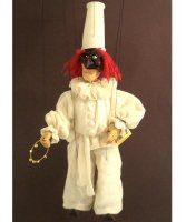 Marionetka wenecka - Pulcinella (77 cm)