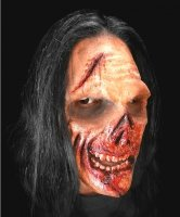 Maska klejona na twarzy - Zombie Deluxe