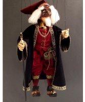Marionetka wenecka - Pantalone (70 cm)