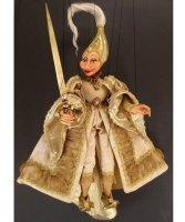 Marionetka wenecka - Dama Bianca (74 cm)
