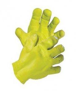 Rękawice lateksowe - Dłonie Shreka
