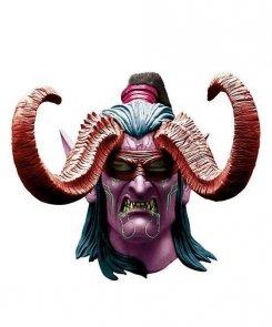 Maska lateksowa - World of Warcraft Illidan