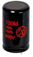 100uF 500V Snap-in JJ