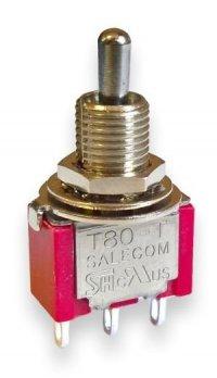 Przełącznik Salecom mini T80 SPDT short 3 poyzcje