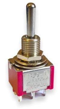 Przełącznik Salecom mini T80 DPDT 3 poyzcje