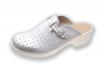 Obuwie specjalistyczne na spodach antypoślizgowych z profilem ortopedycznym i cholewką skórzaną 011tb
