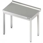 stół przyścienny bez półki 600x600x850 mm skręcany Stalgast