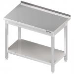 stół przyścienny z półką 1200x700x850 mm skręcany Stalgast