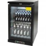 szafa chłodniczna do butelek 150l drzwi otwierane