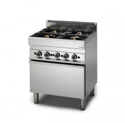 Kuchnia gazowa GRAFEN 650 6-palnikowa z piekarnikiem gazowym