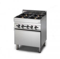 Kuchnia gazowa GRAFEN 650 6-palnikowa z piekarnikiem elektrycznym