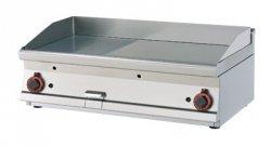 Płyta grillowa gazowa ryflowana RM Gastro FTRT - 610 G