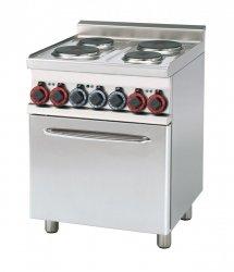 Kuchnia elektryczna zpiek. konw. CFM4-66 ET RM Gastro