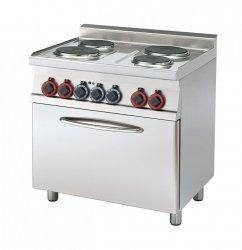 Kuchnia elektryczna z piekarnikiem CF4-68 ET RM Gastro
