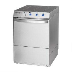 zmywarka do szkła 400x400 z dozownikiem płynu myjącego i pompą zrzutową