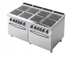 Kuchnia elektryczna zdwoma piek. RM Gastro CFQ8 - 916 ET