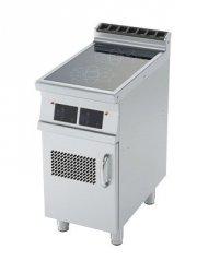 Kuchnia elektr. indukcyjna zszafką 20 kW RM Gastro - PCI - 78 ETD