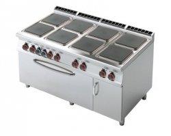 Kuchnia elektryczna zpiek. iszafką RM Gastro CFQ8 - 916 ETV