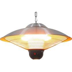 wisząca lampa grzewcza ze zdalnym sterowaniem i oświetleniem LED Stalgast
