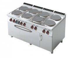 Kuchnia elektryczna zpiek. iszafką RM Gastro CF8 - 916 ETV