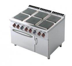Kuchnia elektryczna zpiek. iszafką RM Gastro CFQ6 - 912 ETV